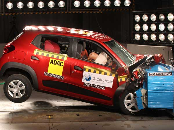 NCAP Crash Test To Highlight The Gap In Safety Standards