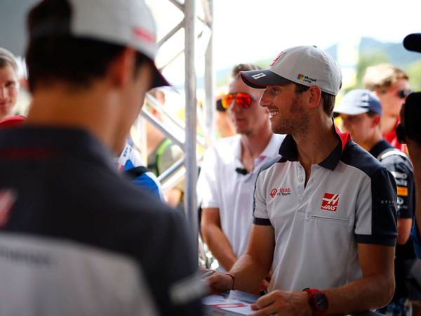 Romain Grosjean Celebrates 100th GP Start; Haas Ready For Home Race