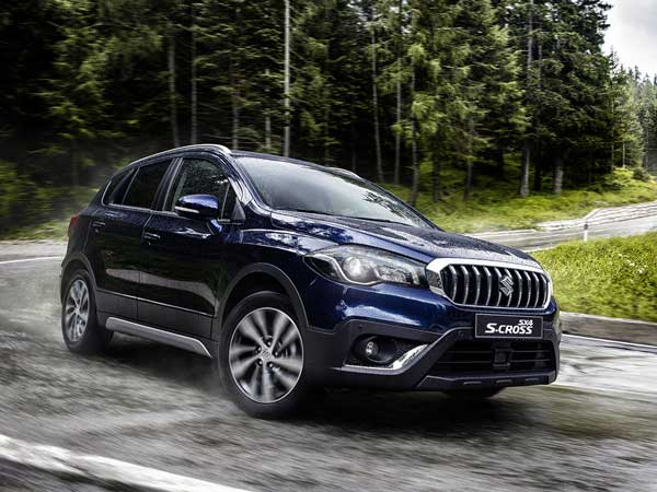 Maruti Suzuki S-Cross Facelift To Be Launched In India In 2017