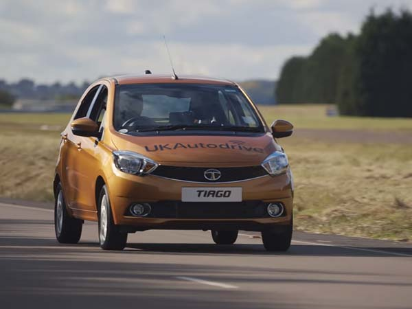 Tata Tiago Takes Part In Jaguar Land Rover Autonomous Tech Programme