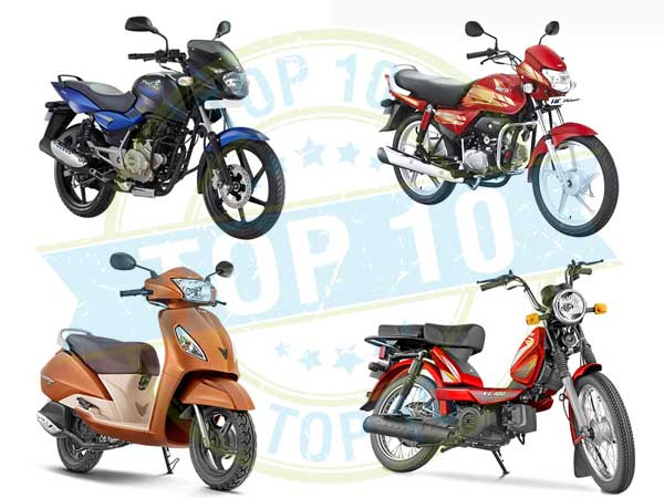 Top 10 Selling Two-Wheelers In September — Top Spot Ruling For Nine Months