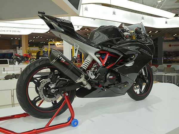 TVS Apache RTR 300 To Be Launched In February-March 2017