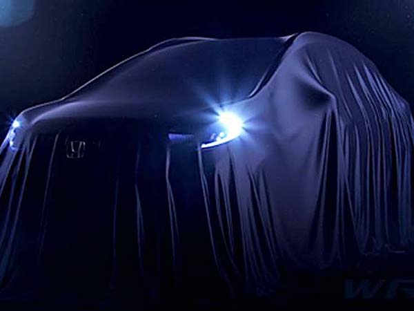 Honda Teases WR-V Jazz Crossover Ahead Of Global Debut