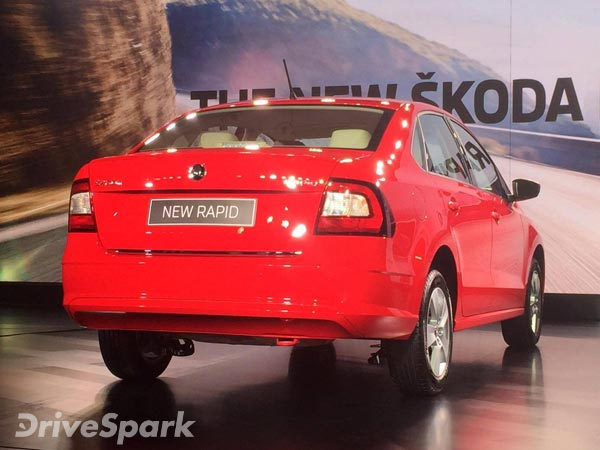 2016 Skoda Rapid Launched In India