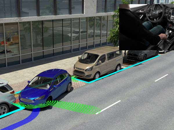 Next Generation Ford Driver Assist — Auto Backup Braking And Evasive Steering Help To Be Included