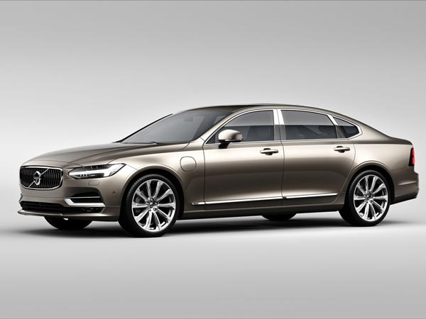 Volvo S90 Excellence Unveiled