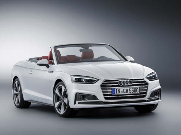 2017 Audi A5 Cabriolet Unveiled Ahead Of Debut