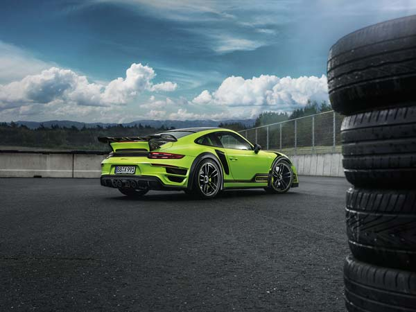 TechArt's GTstreet R Is A 911 Turbo With The Power Turned Up To 11