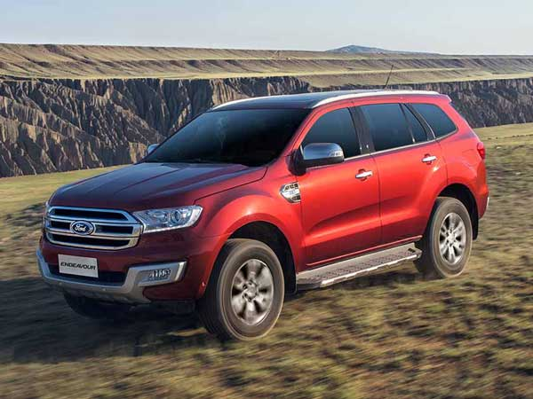 Ford India Adds Two New Features To Their Flagship SUV