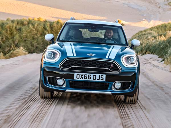 Mini Working On Countryman SUV Based Coupe