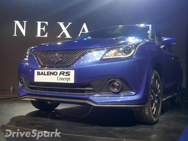 Baleno RS With BOOSTERJET Engine India Launch By Early 2017