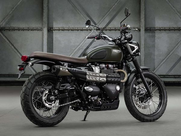 2016 EICMA Motor Show: Triumph Street Scrambler Has Been Unveiled