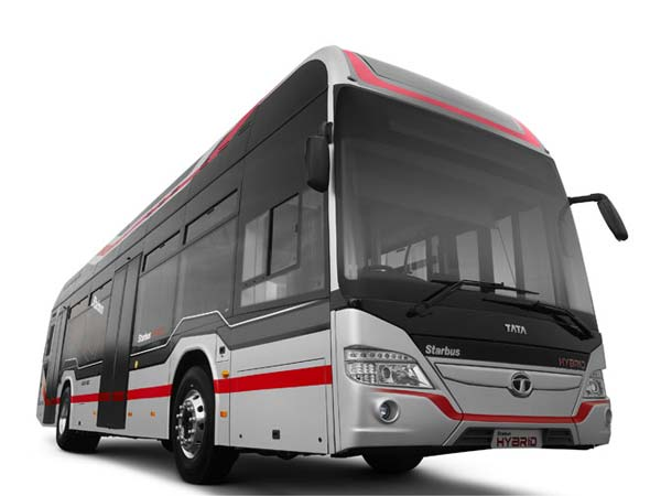 Tata Motors Showcases India's Maiden LNG-Powered Bus