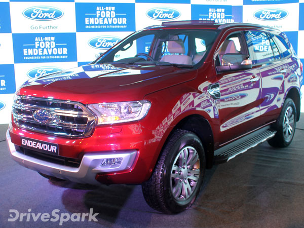 Comparison: New Ford Endeavour vs The New Toyota Fortuner