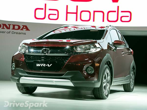 Honda Reveals India Bound WR-V Compact SUV