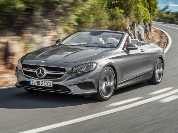 Mercedes S-Class Cabriolet Launched In India At Rs 2.25 Crore