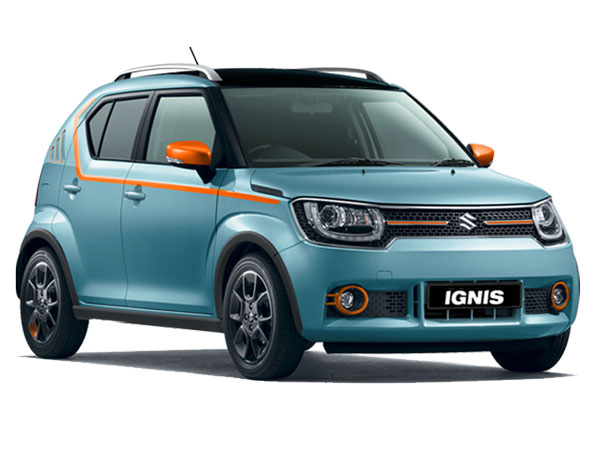 suzuki ignis iunique introduced in italy drivespark news. Black Bedroom Furniture Sets. Home Design Ideas