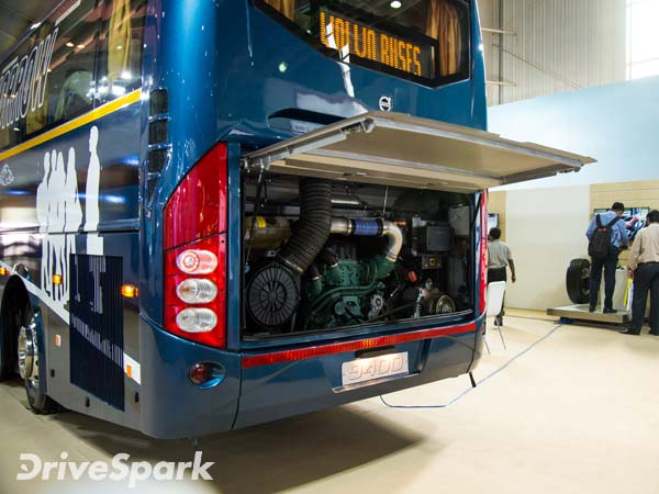 Volvo Launches New Intercity Buses In India - DriveSpark News
