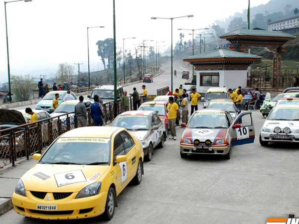 India, Myanmar and Thailand Friendship Motor Car Rally Starts From November 13, 2016