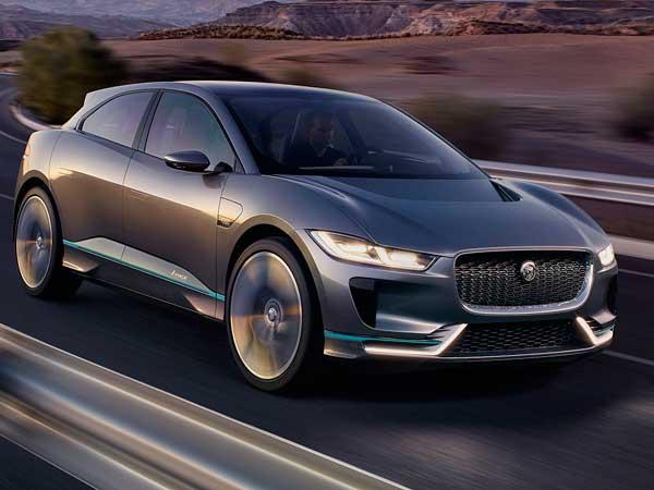 2016 La Auto Show Jaguar I Pace Electric Suv Unveiled Drivespark