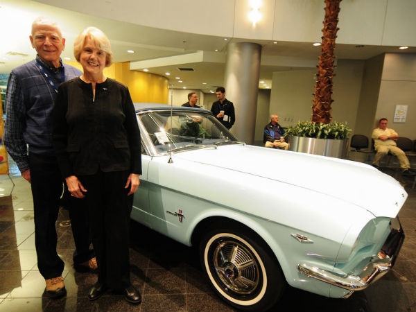 World's Oldest Ford Mustang Owner Is 97-Years-Old