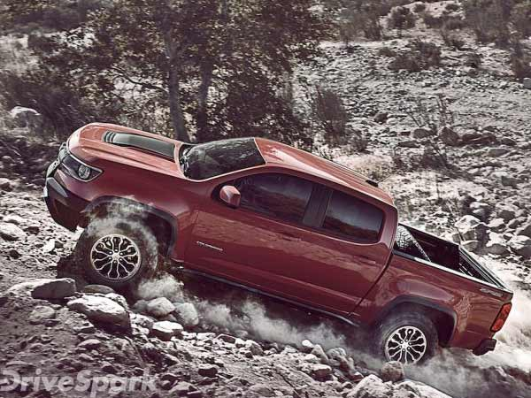 Chevrolet Unveils The Colorado ZR2 At L.A Auto Show