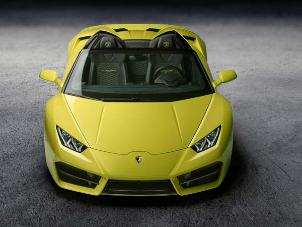 Los Angeles Auto Show 2016: Lamborghini Huracan RWD Spyder Unveiled