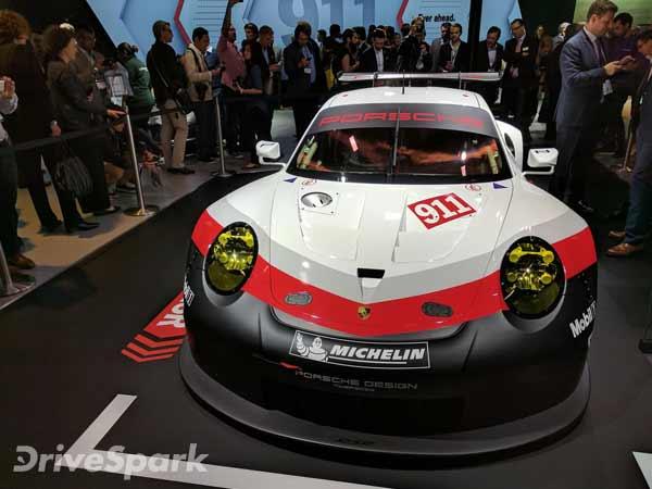 Original Los Angeles Auto Show 2016 Porsche Unveils 911 RSR Race