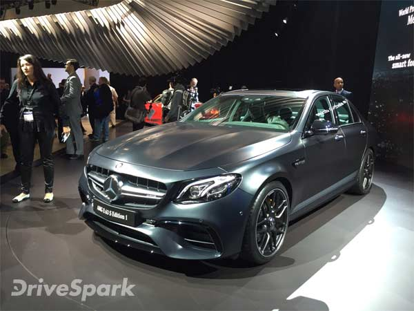 New Los Angeles Auto Show 2016 Mercedes E63 S AMG Makes