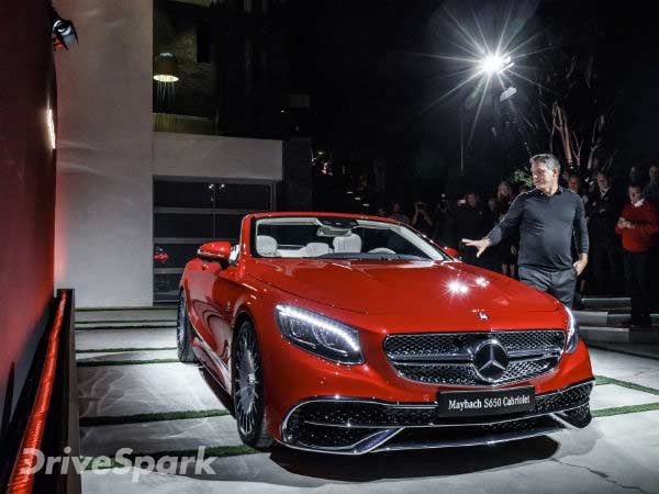 Los Angeles Auto Show 2016: Mercedes-Maybach S650 Cabriolet Revealed