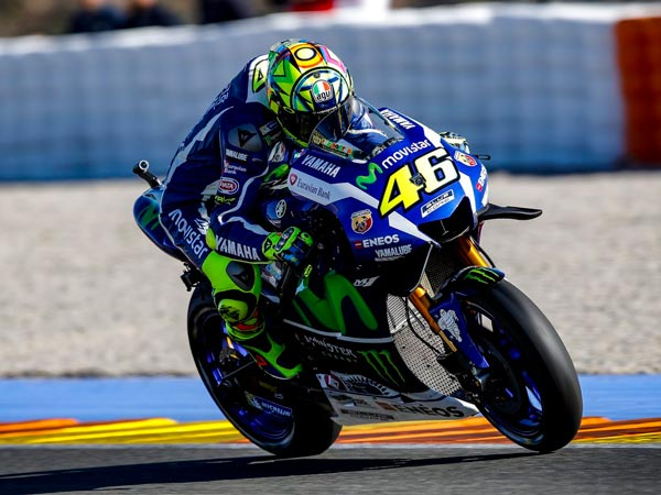 "MotoGP Test: Rossi Admires Vinales For ""Huge Laptime"""