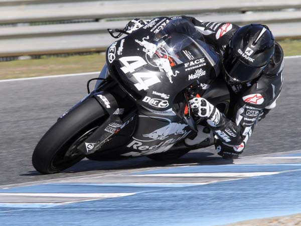Moto2: Binder And Oliveira Tests The KTM Moto2 Machine