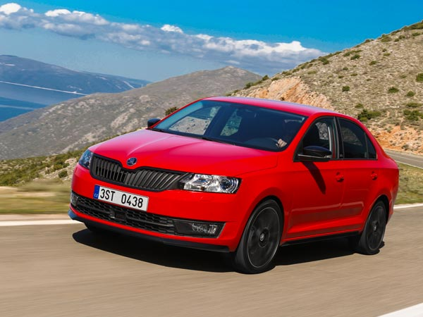 Skoda To Launch Special Edition Rapid Monte Carlo In India