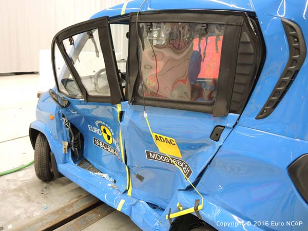 Bajaj Qute Earns One Star Rating At Global NCAP Tests