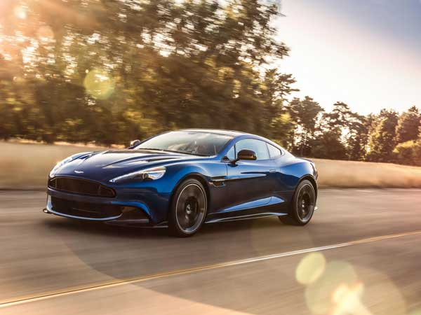 Aston Martin Vanquish S Unveiled; Last Aston Martin To Feature Naturally Aspirated V12 Engine