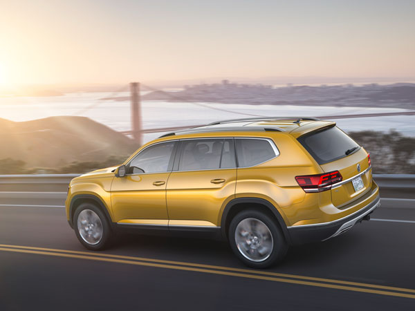 Los Angeles Auto Show 2016: Volkswagen Atlas SUV Unveiled