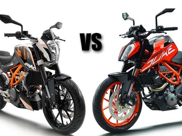 New 2017 KTM Duke 390 vs BMW G310R Comparison - DriveSpark News