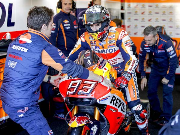 "MotoGP Test: Marc Marquez: ""The bike at the moment is the same"""