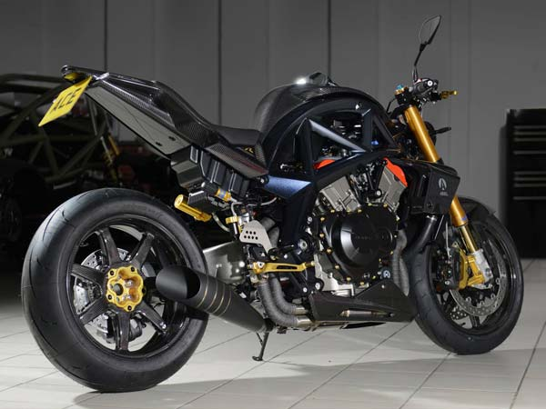 Ariel Motor Builds Just Ten Units Of Ace R Limited Edition Motorcycle