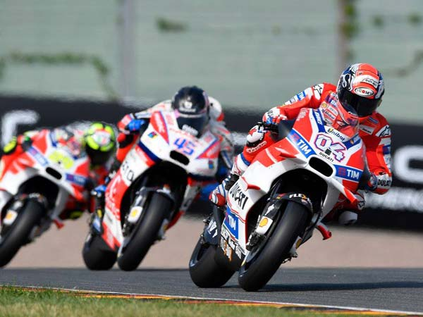 "MotoGP Test: Andrea Dovizioso: ""I'm Not Surprised By Lorenzo's Speed"""