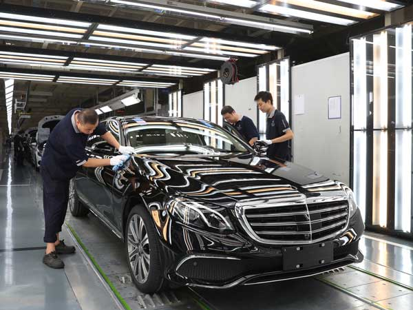 Mercedes-Benz China Rolls Out Its One Millionth Car