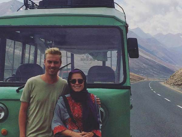 Dutch Couple Drove A Maxi Cab From Kerala To Holland