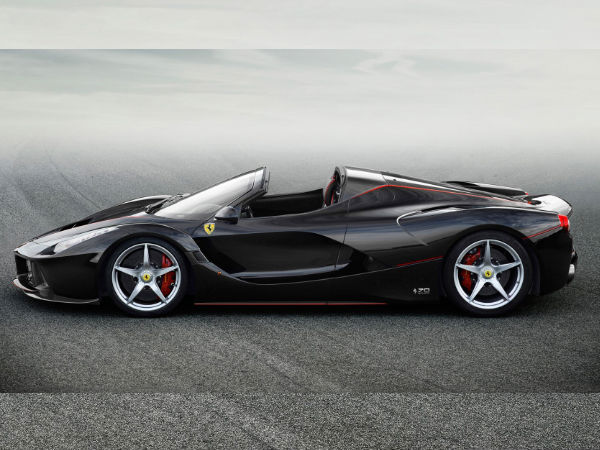 Gordon Ramsay Gets A LaFerrari Aperta