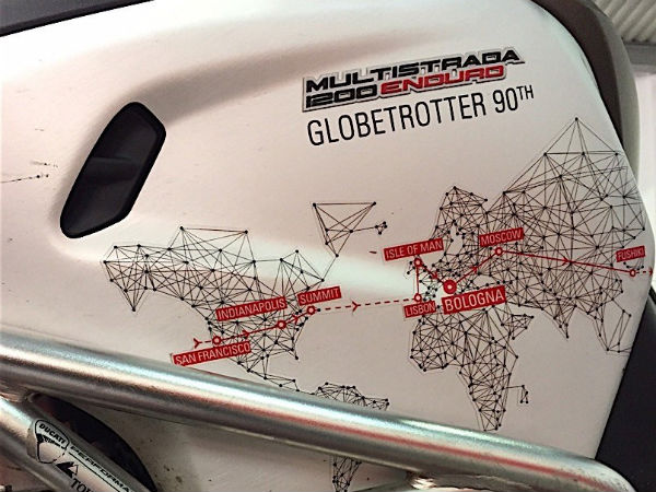 Ducati's Globetrotter 90 Project Enters Its Sixth Phase