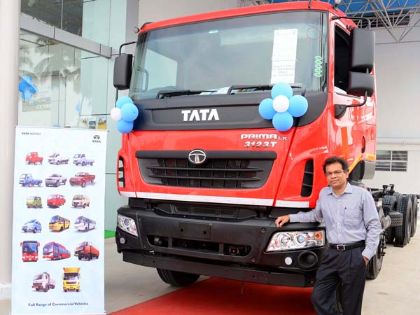 Tata Motors Aims At Top Three Position In Commercial Vehicle Segment