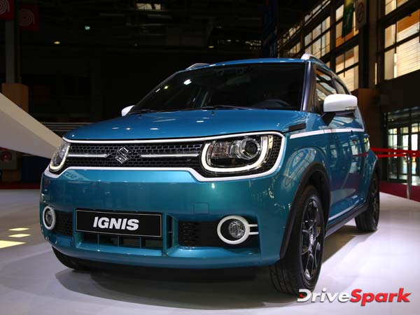 Maruti Suzuki Ignis To Be Launched In India In February 2017