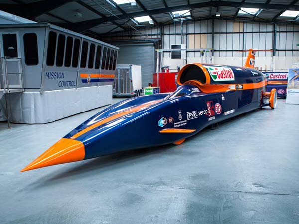 World's Fastest Car Aiming To Hit 1600Km/h In 2017 — Has An Indian Connection