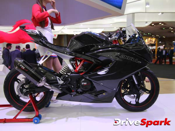 TVS Akula Fans — Get The Party Started: Akula 310 Launch Date Confirmed For India
