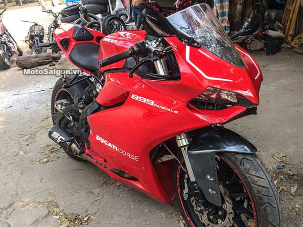 This Benelli TNT 300 Is Perfectly Disguised As Ducati Panigale