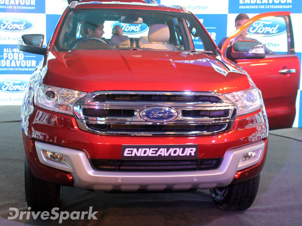 Ford To Revise The Price Of Endeavour In India